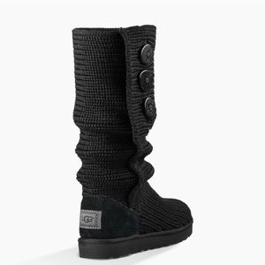 UGG Candy black tall boots.